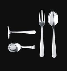 Kay Bojesen silver children's cutlery. Kay Bojesen silver. Danish Design