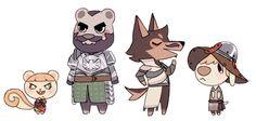 Sera, Blackwall, Dorian, and Cole by Deepgreen Mountain