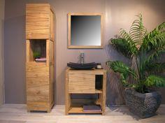 #meuble #teck #salledebain