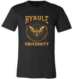 cool Hyrule University Men Shirt Check more at https://crazeline.com/product/hyrule-university-men-shirt/