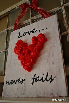 Tissue Paper Valentine's art