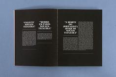 """A biographic book for """"Novais Teixeira"""" cinema critic – PPT design inspiration"""