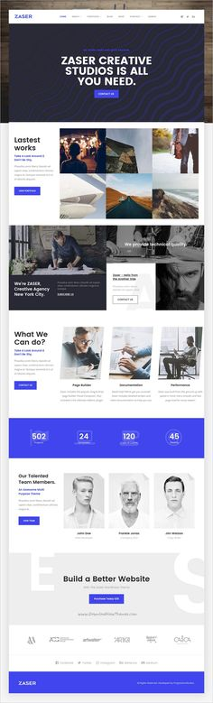 Zaser Pro is a all-in-one responsive #WordPress theme for #creative #studio websites with 11+ multipurpose homepage layouts download now➩ https://themeforest.net/item/zaser-pro-allinone-wordpress-theme/19284462?ref=Datasata