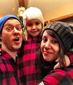 This family is having a lot of fun with our Canada plaid onesie design from  Snug 1c7a0caca