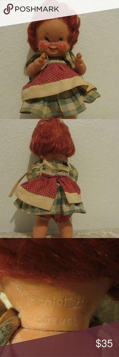 GOEBEL CHARLOT BYJ RED HEAD GIRL DOLL 1957 great shape  GOEBEL CHARLOT BYJ RED HEAD GIRL DOLL 1957 Other