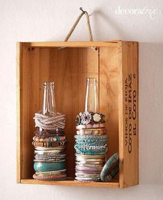 Another way to store jewellery
