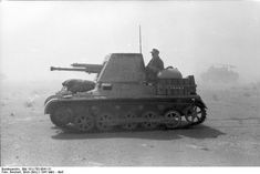 By 1941, the Panzer I chassis design was used as the basis of tank destroyers (Panzerjäger I, second to last pic) and assault guns (Sturmpanzer I, last pic). There were attempts to upgrade the Panzer I throughout its service history, including by foreign nations, to extend the design's lifespan. It continued to serve in the Spanish Armed Forces until 1954.