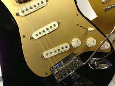 FCS Classic Player's Strat, Black Anodized ~ Guitar Blog for Strat Players | Stratoblogster