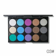 Phoera Glitter Powder Shimmering Colors Eyeshadow Metallic Eye Cosmetic Waterproof Ucanbe Paleta Sombras Focallure Ucanbe A2 Beauty & Health Beauty Essentials