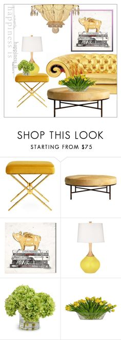 """""""Stack 'em fashionista client 2017"""" by frenchfriesblackmg ❤ liked on Polyvore featuring interior, interiors, interior design, home, home decor, interior decorating, Jonathan Adler, Oliver Gal Artist Co., The French Bee and Lamp International"""