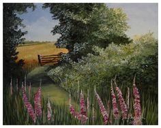 droga - obraz na płótnie artist: Edyta Muszelik