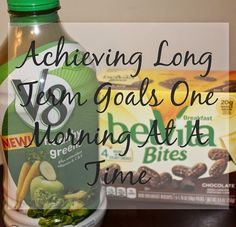 Learn how I'm using V8 and belVita to achieve all my 2015 health goals one morning at a time! #NewBreakfastRoutine #Ad