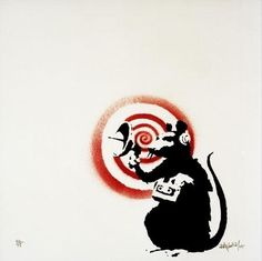 Banksy, 'Radar rat,' 2004
