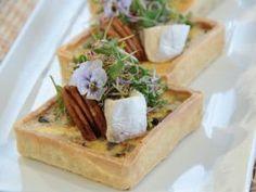 Champignones, cebolla y queso azul. El gourmetl