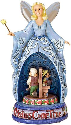 The Blue Musical Fairy Figurine by Jim Shore