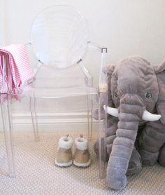 Love the mini ghost chair & elephant!