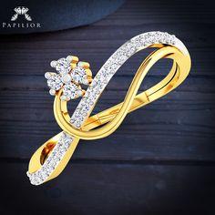 Amazing #Diamond #Rings that Make You Smile More Than You Should  #diamondring #goldring #rakhigift #diamondjewelry #under15k
