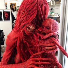 "Crimson Peak (2015) Javier Botet as Enola, makeup by David Martí & DDT Efectos Especiales. Source: SWCoCA ""I'm gonna find my baby before that sun goes down ..."""