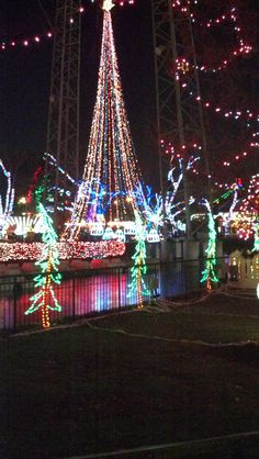 "Pittsburgh. Kennywood's Holiday Festival of Lights. A ""must see"" over the holidays!"