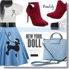 New York Doll by fashion-pol on Polyvore featuring Hemingway