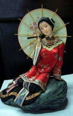 chinese folk doll