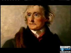 ▶ Thomas Jefferson -  C3 W4 & 6 Author of Declaration of Independence & gained the Louisiana Purchase from France as President