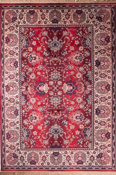 Dutchbone vloerkleed Carpet Bid Old Red