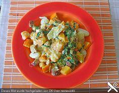 Gnocchi mit Kürbis-Rucola-Sauce