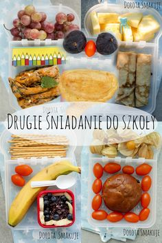 drugie śniadanie do szkoły Polish Recipes, Cooking With Kids, Bento, Kids And Parenting, Kids Meals, Hamburger, Sausage, Lunch Box, Food And Drink