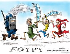 egypt facebook twitter