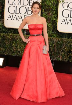 2013: Jennifer Lawrence in Christian Dior Haute Couture