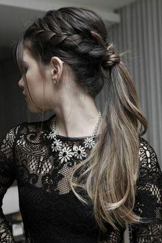 idée de coiffure cheveux longs marrons tendances
