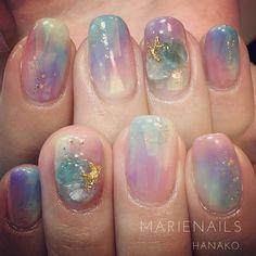 Nautical Nail Designs, Nautical Nails, Cute Nail Art, Cute Nails, Pretty Nails, Best Nail Art Designs, Nail Designs Spring, Manicure, Kawaii Nails