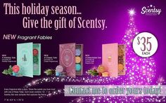 This is a great gift idea and the price???  Perfect.  Come on over and check it out and message me with any questions that you might have. https://sherrys.scentsy.us/
