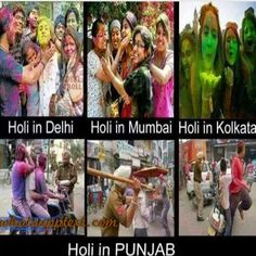 WhatsApp Text | Jokes | SMS | Hindi | Indian: Best funny Holi messages and pictures