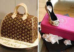Louis Vuitton cake!