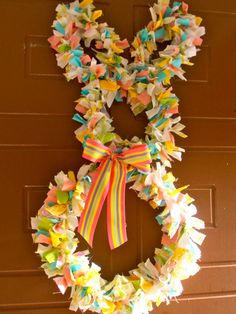 holiday, easter wreaths, door, spring wreaths, bunni wreath