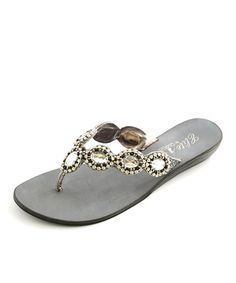 d011785f191c Take a look at this Pewter Los Cabos Sandal by Corky s Footwear on  zulily  today