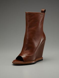 Camilla Skovgaard Wedge Open-Toe Ankle Boot
