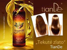 Nechte své vlasy hýčkat olejem s argovým fluidem. Vaše vlasy Vás budou milovat a zářit jako zlato. Argan Oil Hair, Hair Oil