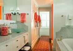 Moderne Badezimmer Innenarchitektur -  Tolle Design Schema