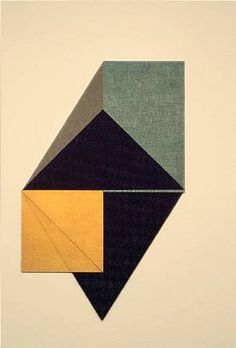 DOROTHEA ROCKBURNE | simple shapes can be so effective when used correctly
