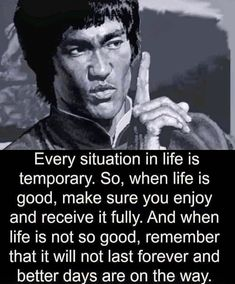 Stay Positive Quotes, Positive News, Positive Feelings, Morning Motivation, Fitness Motivation, Business Motivation, Quote Of The Day, Bruce Lee Quotes, Gym Tips