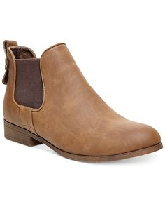 Madden Girl Double Gore Ankle Booties (preferably in Cognac) - on a mission to find Harry Styles-esque boots!