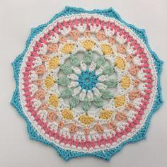 Naissance Mandala by Cotton Pod. Made with DROPS Paris
