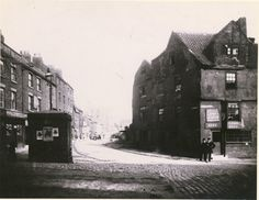 Sandgate, looking east, corner of Milk Market and Three Bulls Heads, Newcastle, 1882 Wooden Fort, Number 12, Somewhere In Time, North East England, Sunderland, Historical Pictures, Newcastle, Digital Image, Vintage Photos