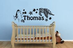 Finding Nemo Personalised Vinyl Wall Art Sticker,Decal- Children's Bedroom Wall Decoration. $19.85