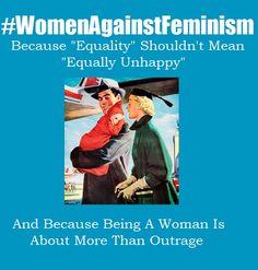 #WomenAgainstFeminism
