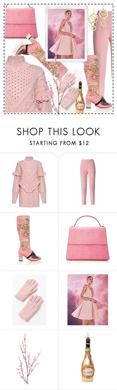 """""""Woman fashion"""" by delfina716 ❤ liked on Polyvore featuring Mother of Pearl, Esme Vie, Gucci, Hunting Season, Urban Outfitters, Ted Baker, Pier 1 Imports and Bloomingdale's"""