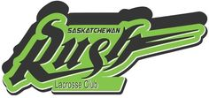 Saskatchewan Rush Primary Logo on Chris Creamer's Sports Logos Page - SportsLogos. A virtual museum of sports logos, uniforms and historical items. Virtual Museum, Sports Logos, Lacrosse, Skate, Pride, Cricut, History, Historia, Create A Critter